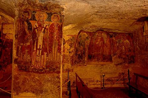 cripte bizantine di carpignano salentino