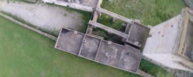 Acquarica del Capo - riprese da un drone - Masseria di Celsorizzo - Salento