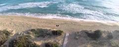 La Spiaggia di Lido Marini vista da un drone, nel Salento
